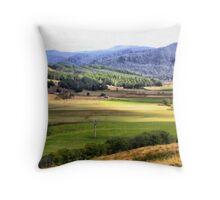 Gunns Plains  Throw Pillow