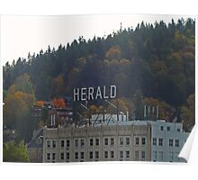 The Herald Poster