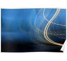 Swirl Blur Poster