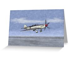 Fairey Firefly Fighter 1945 Greeting Card