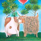 HIGHLAND COWS HEART by gordonbruce