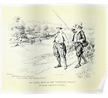 De Lebris Prose and Verse Tomson Hugh and Kate Greenaway 1909 0008 The Otter Hunt Poster