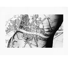 Body Maps - Ancient London - Torso Photographic Print