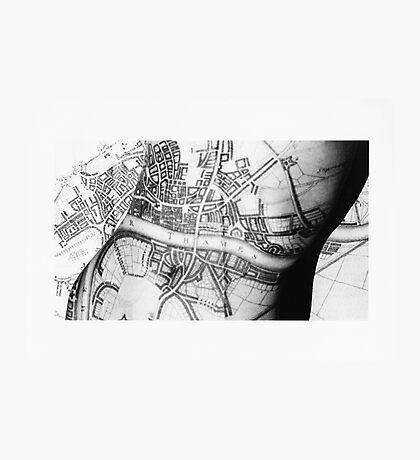 Body Maps - Ancient London - Torso Photographic Print