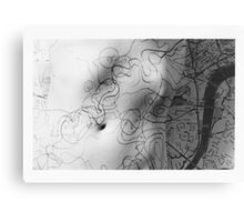 Body Maps - Mixed Maps - Torso Canvas Print