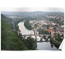 Valentre bridge (Cahors, France) Poster