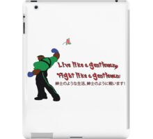Street Fighter 3  Dudley  iPad Case/Skin