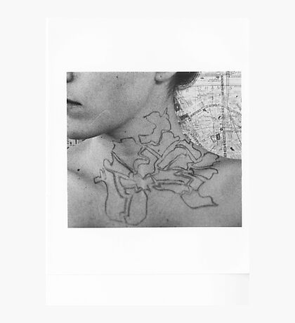 Body Maps - Tower Hamlets - Neck Photographic Print