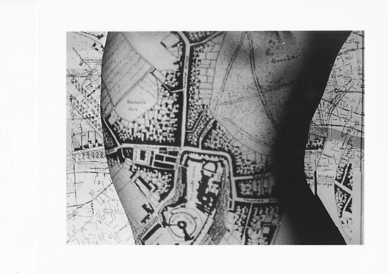 Body Maps - Windsor - Back by MaggieGrace