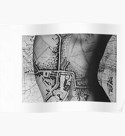Body Maps - Windsor - Back Poster