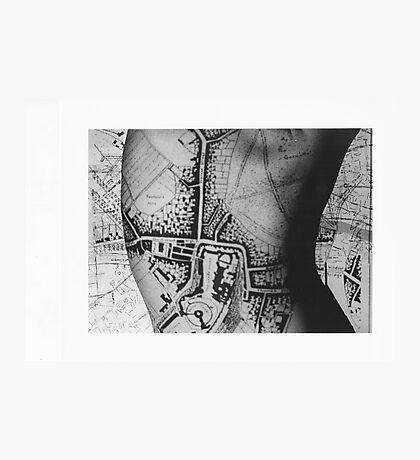 Body Maps - Windsor - Back Photographic Print