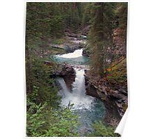 Twin Cascades Poster