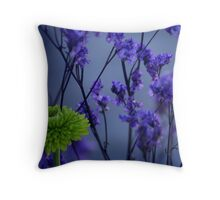 Lost In A Purple Forest Throw Pillow
