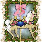 The Flower Carousel by TASIllustration
