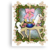 The Flower Carousel Metal Print