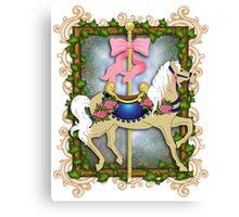 The Flower Carousel Canvas Print