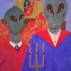 A Martian Gothic by artbymike156