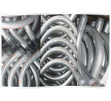 curving conduits Poster