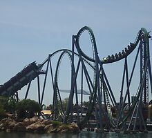 The Incredible Hulk Coaster by Noelle Lewandowski