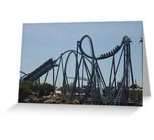 The Incredible Hulk Coaster Greeting Card