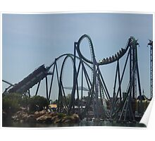 The Incredible Hulk Coaster Poster