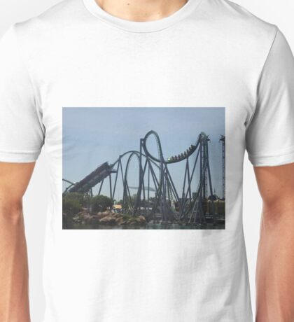 The Incredible Hulk Coaster Unisex T-Shirt