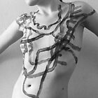 Body Maps - Mixed Manhattan and Hingham - Torso by MaggieGrace