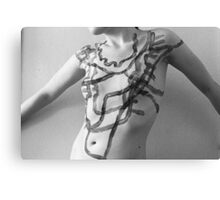 Body Maps - Mixed Manhattan and Hingham - Torso Canvas Print