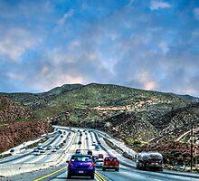 On the roads to Antelope Valley by LudaNayvelt