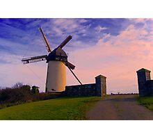 Irish Antiquities- Skerries Water Mill Photographic Print