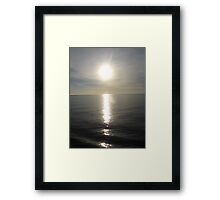 The Great Eye in the Sky Framed Print