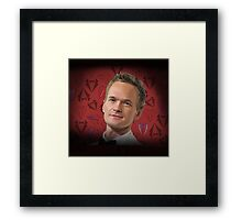 Neil Patrick Harris w/Suits Framed Print