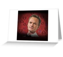 Neil Patrick Harris w/Suits Greeting Card