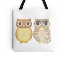Owl & Cat Tote Bag