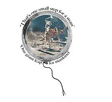 Neil Armstrong, Moon Walking Photographic Print