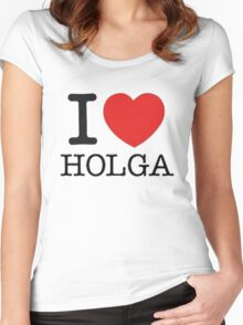 I ♥ HOLGA Women's Fitted Scoop T-Shirt
