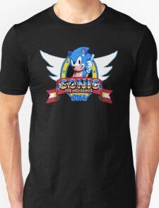 Sonic Logo - pixel art Unisex T-Shirt