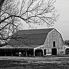 Oklahoma Barn by Mitchell Tillison