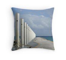 Endless - Playa del Carmen Throw Pillow