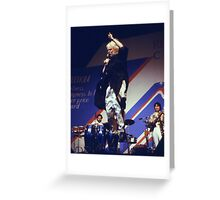 Edgar Winter Airborn Greeting Card