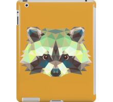 Geometric Raccoon iPad Case/Skin