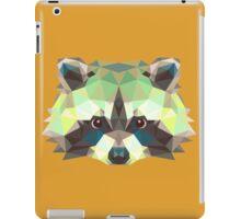 Geometric Raccoon iPad Case/Skin