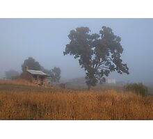 Foggy Morning at the Summit Photographic Print