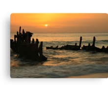 Sunrise on Dicky Canvas Print