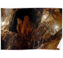 Maze of Strairs - Tham Nang Aen Cave, Laos. Poster
