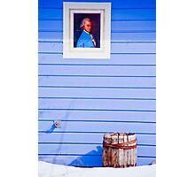 Patriot Blue Photographic Print
