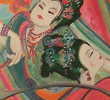 Dancing Girls  by Zoviar