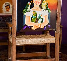 Frida & Feathered Friends by phil decocco