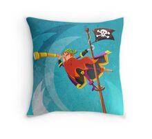 The Crow's Nest  Throw Pillow