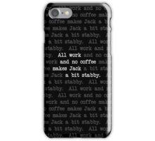 Stabby Jack Dark iPhone Case/Skin